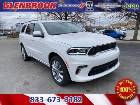 2021 Dodge Durango for sale at Glenbrook Dodge Chrysler Jeep Ram and Fiat in Fort Wayne IN