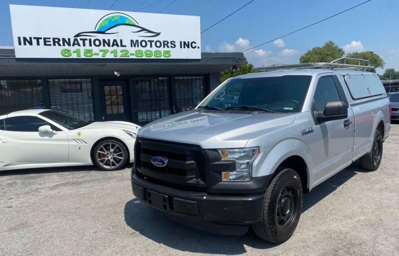 2016 Ford F-150 for sale at International Motors Inc. in Nashville TN