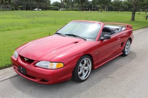 1996 Ford Mustang for sale at Premier Motorcars in Bonita Springs FL
