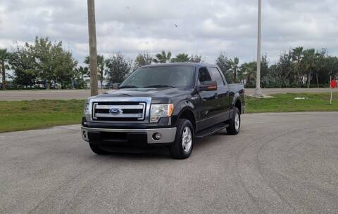 2014 Ford F-150 for sale at FLORIDA USED CARS INC in Fort Myers FL