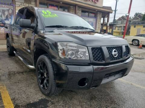 2005 Nissan Titan for sale at USA Auto Brokers in Houston TX