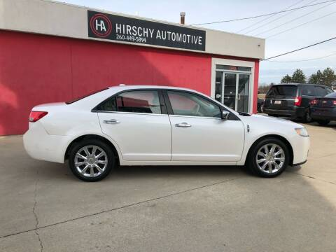 2012 Lincoln MKZ for sale at Hirschy Automotive in Fort Wayne IN