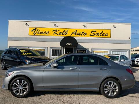 2015 Mercedes-Benz C-Class for sale at Vince Kolb Auto Sales in Lake Ozark MO