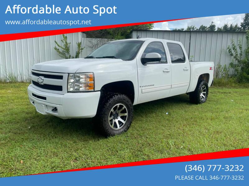2009 Chevrolet Silverado 1500 for sale at Affordable Auto Spot in Houston TX