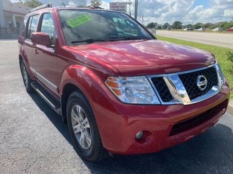 2012 Nissan Pathfinder for sale at The Car Connection Inc. in Palm Bay FL