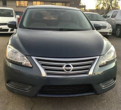 2014 Nissan Sentra for sale at GPS Motors in Denver CO