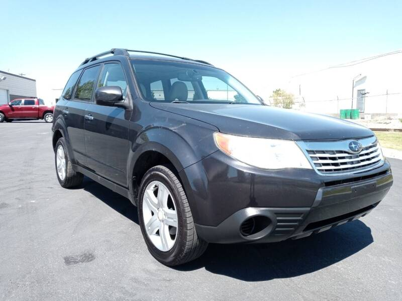 2009 Subaru Forester for sale at AUTOMOTIVE SOLUTIONS in Salt Lake City UT