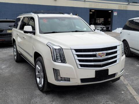 2015 Cadillac Escalade ESV for sale at AW Auto & Truck Wholesalers  Inc. in Hasbrouck Heights NJ