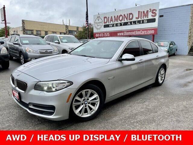 2014 BMW 5 Series for sale at Diamond Jim's West Allis in West Allis WI