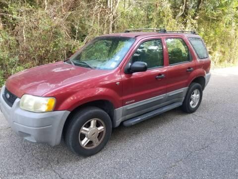2001 Ford Escape for sale at J & J Auto Brokers in Slidell LA