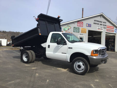 2000 Ford F-550 Super Duty for sale at AFFORDABLE AUTO SVC & SALES in Bath NY