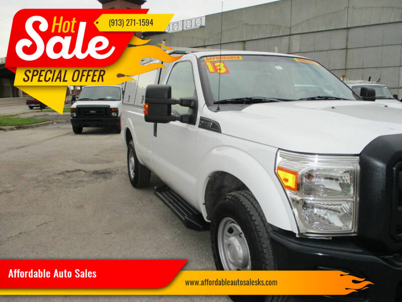 2013 Ford F-250 Super Duty for sale at Affordable Auto Sales in Olathe KS