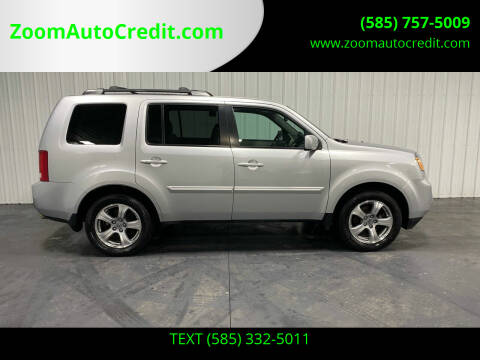 2015 Honda Pilot for sale at ZoomAutoCredit.com in Elba NY