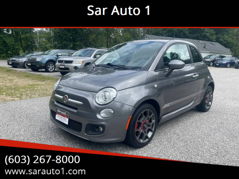 2012 FIAT 500 for sale at Sar Auto 1 in Belmont NH