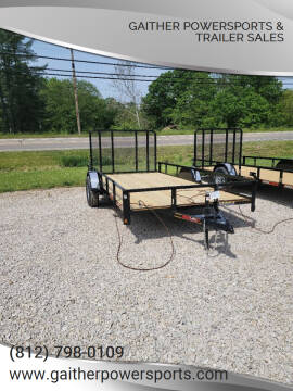 """2021 Heartland 14'x82"""" Utility with Gate for sale at Gaither Powersports & Trailer Sales in Linton IN"""