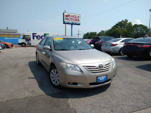 2007 Toyota Camry for sale at Eagle Motors in Hamilton OH