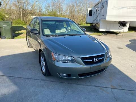 2008 Hyundai Sonata for sale at Autoway Auto Center in Sevierville TN
