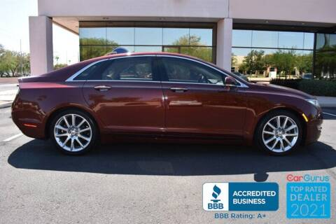 2015 Lincoln MKZ Hybrid for sale at GOLDIES MOTORS in Phoenix AZ