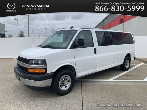 2018 Chevrolet Express Passenger for sale at Bening Mazda in Cape Girardeau MO