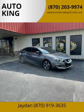 2017 Nissan Maxima for sale at AUTO KING in Jonesboro AR