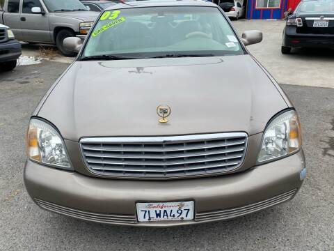 2003 Cadillac DeVille for sale at North County Auto in Oceanside CA