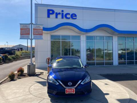 2019 Nissan Sentra for sale at Price Honda in McMinnville in Mcminnville OR