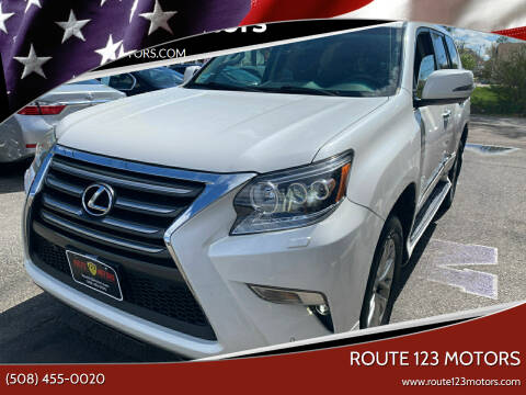 2014 Lexus GX 460 for sale at Route 123 Motors in Norton MA
