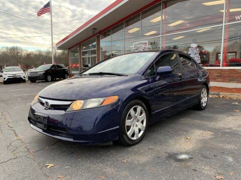 2008 Honda Civic for sale at USA Motor Sport inc in Marlborough MA