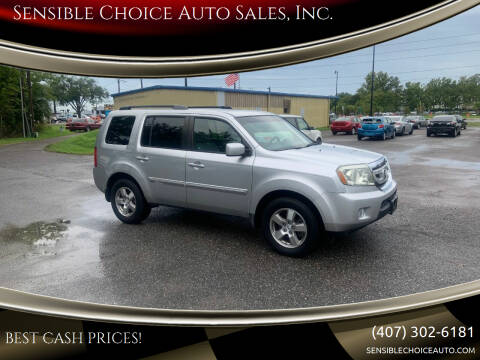 2011 Honda Pilot for sale at Sensible Choice Auto Sales, Inc. in Longwood FL