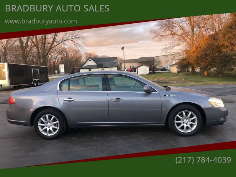 2008 Buick Lucerne for sale at BRADBURY AUTO SALES in Gibson City IL