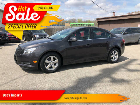 2014 Chevrolet Cruze for sale at Bob's Imports in Clinton IL