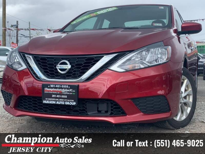 2018 Nissan Sentra for sale at CHAMPION AUTO SALES OF JERSEY CITY in Jersey City NJ