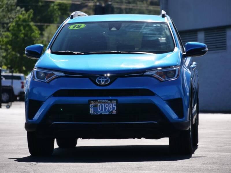 2018 Toyota RAV4 Hybrid for sale at CLINT NEWELL USED CARS in Roseburg OR