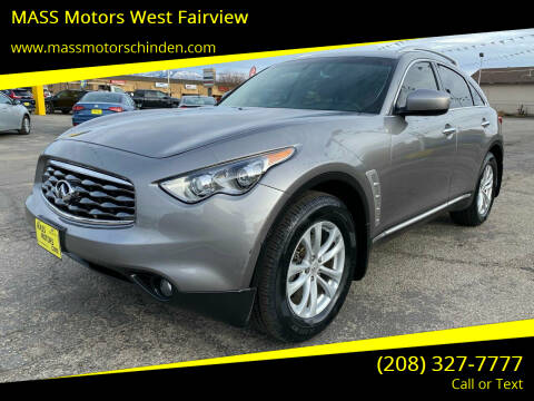 2010 Infiniti FX35 for sale at M.A.S.S. Motors - West Fairview in Boise ID