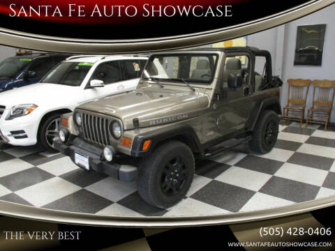2006 Jeep Wrangler for sale at Santa Fe Auto Showcase in Santa Fe NM