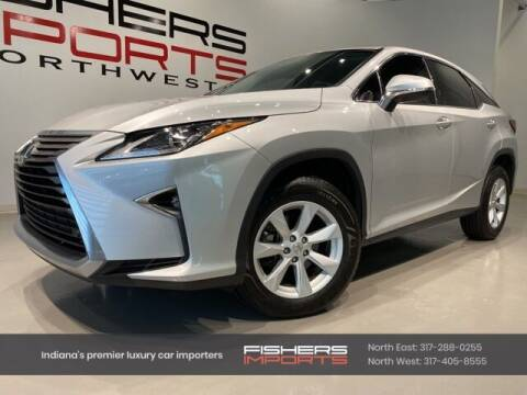 2016 Lexus RX 350 for sale at Fishers Imports in Fishers IN