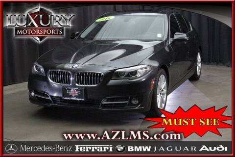 2016 BMW 5 Series for sale at Luxury Motorsports in Phoenix AZ