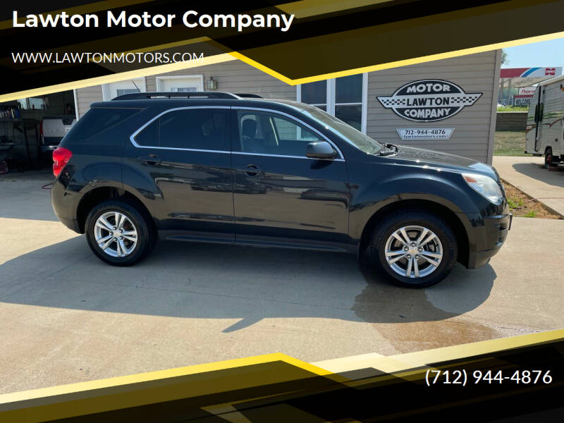 2013 Chevrolet Equinox for sale at Lawton Motor Company in Lawton IA