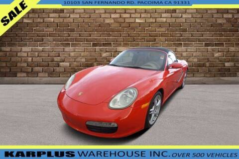 2006 Porsche Boxster for sale at Karplus Warehouse in Pacoima CA