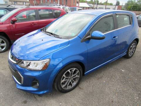2017 Chevrolet Sonic for sale at Arnold Motor Company in Houston PA