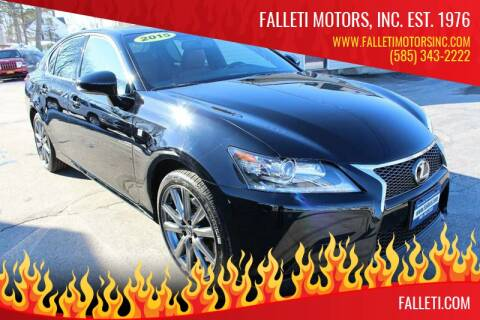 2015 Lexus GS 350 for sale at Falleti Motors, Inc.  est. 1976 in Batavia NY