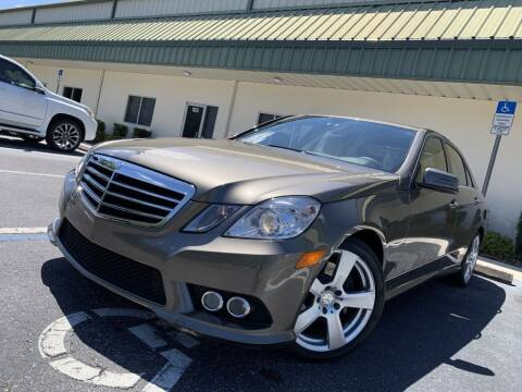 2010 Mercedes-Benz E-Class for sale at Fisher Motor Group LLC in Bradenton FL