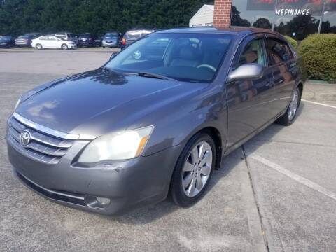 2005 Toyota Avalon for sale at Pinnacle Acceptance Corp. in Franklinton NC