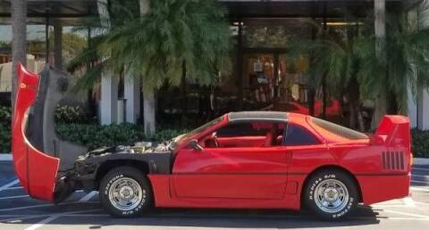 1982 Ferrari F-40 for sale at Classic Car Deals in Cadillac MI