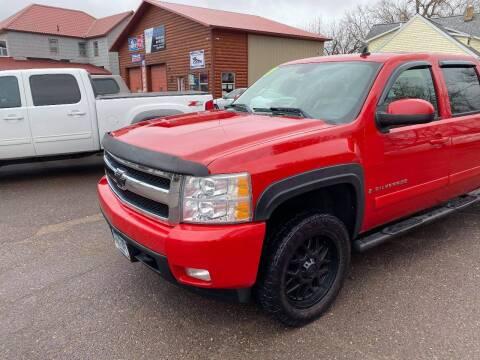 2007 Chevrolet Silverado 1500 for sale at WB Auto Sales LLC in Barnum MN