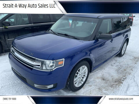 2014 Ford Flex for sale at Strait-A-Way Auto Sales LLC in Gaylord MI