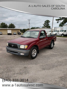 2003 Toyota Tacoma for sale at A-1 Auto Sales Of South Carolina in Conway SC