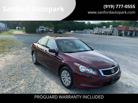 2010 Honda Accord for sale at Sanford Autopark in Sanford NC