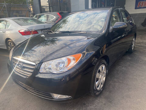 2008 Hyundai Elantra for sale at DEALS ON WHEELS in Newark NJ
