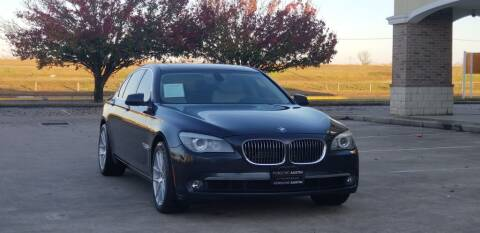 2012 BMW 7 Series for sale at America's Auto Financial in Houston TX